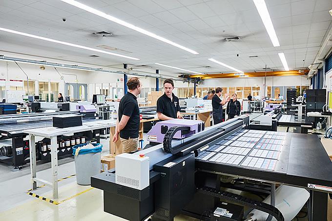 Le nostre stampanti stampano in Pantone